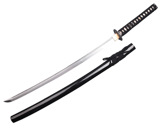 Samurai sword background . Transparent katana picture black and white download