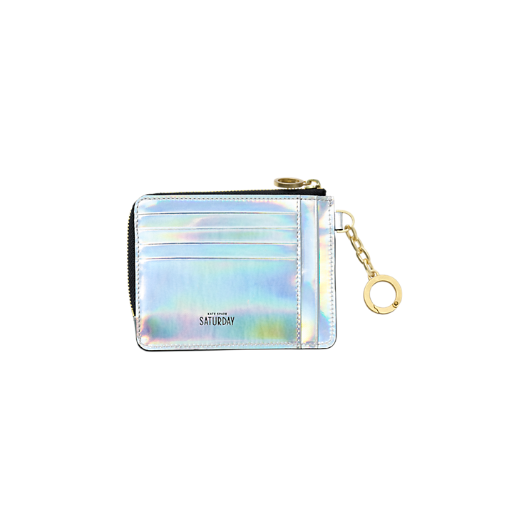Kate spade wallet png. Card coin in metallic