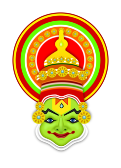 Kathakali statue png. India images under cc