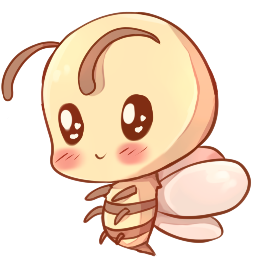 Kawaii animal png. Image bee jam clans