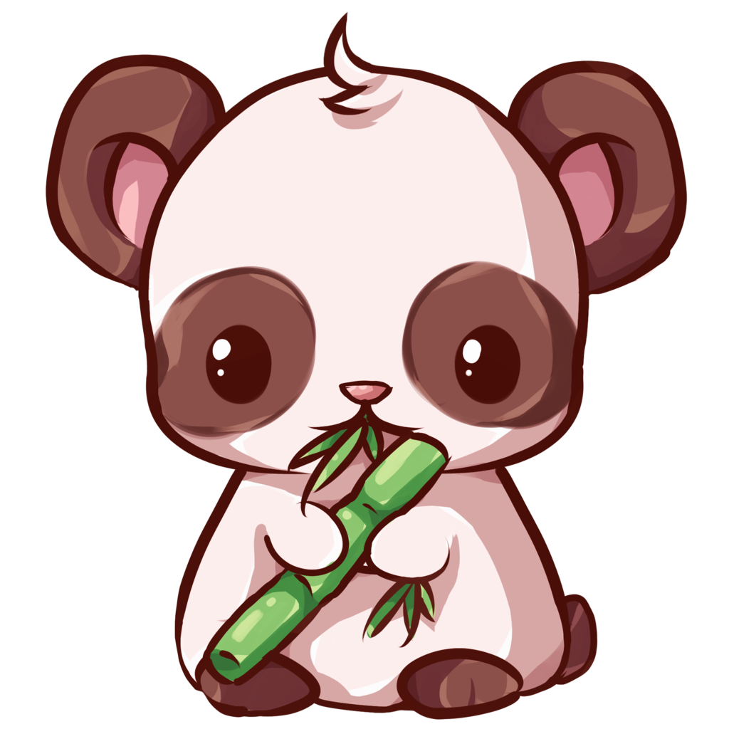 Panda buscar con google. Kawaii animal png picture black and white download