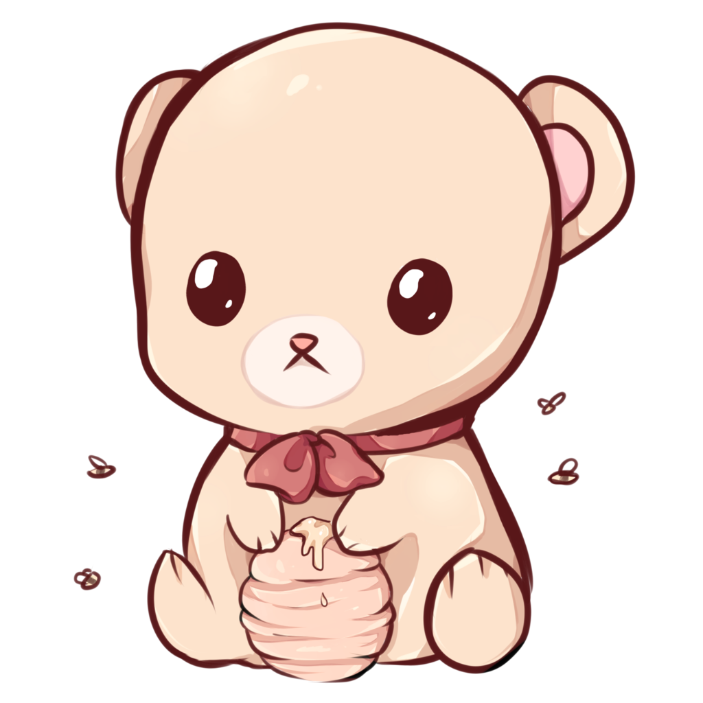 Kawaii animals png. Bear by dessineka on