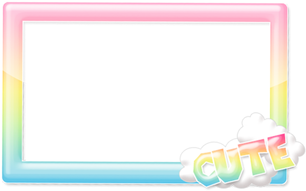 Kawaii border png. Download hd frame transparent