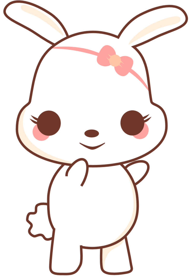 By sicara deviant on. Kawaii bunny png clip freeuse download