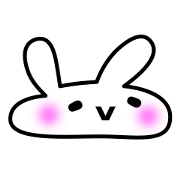 Chan line sticker rumors. Kawaii bunny png jpg transparent library