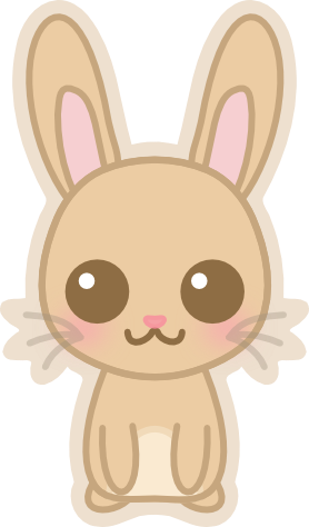 Dd by amis on. Kawaii bunny png banner free
