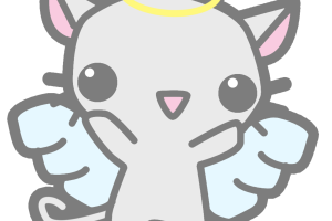 Kawaii cat png. Image related wallpapers
