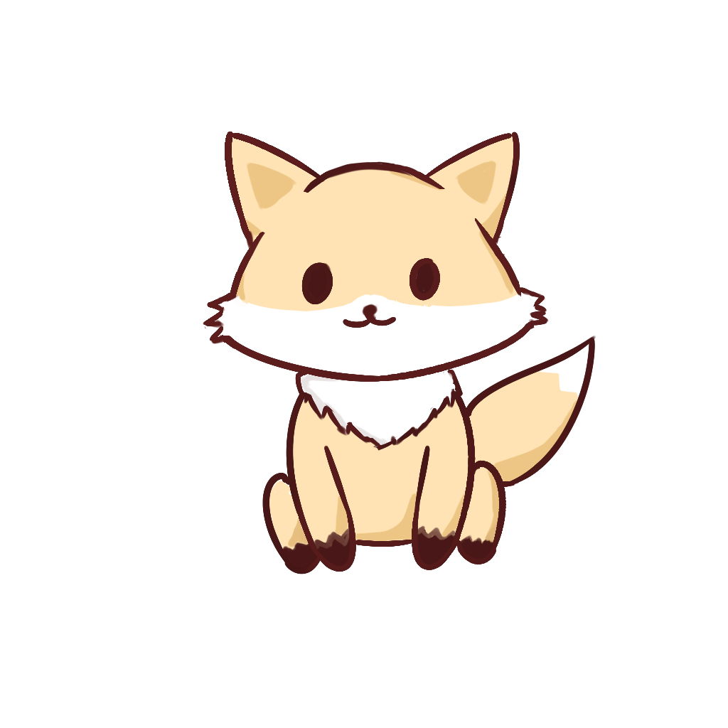 Kawaii cats png. Fox by cursedcrown on