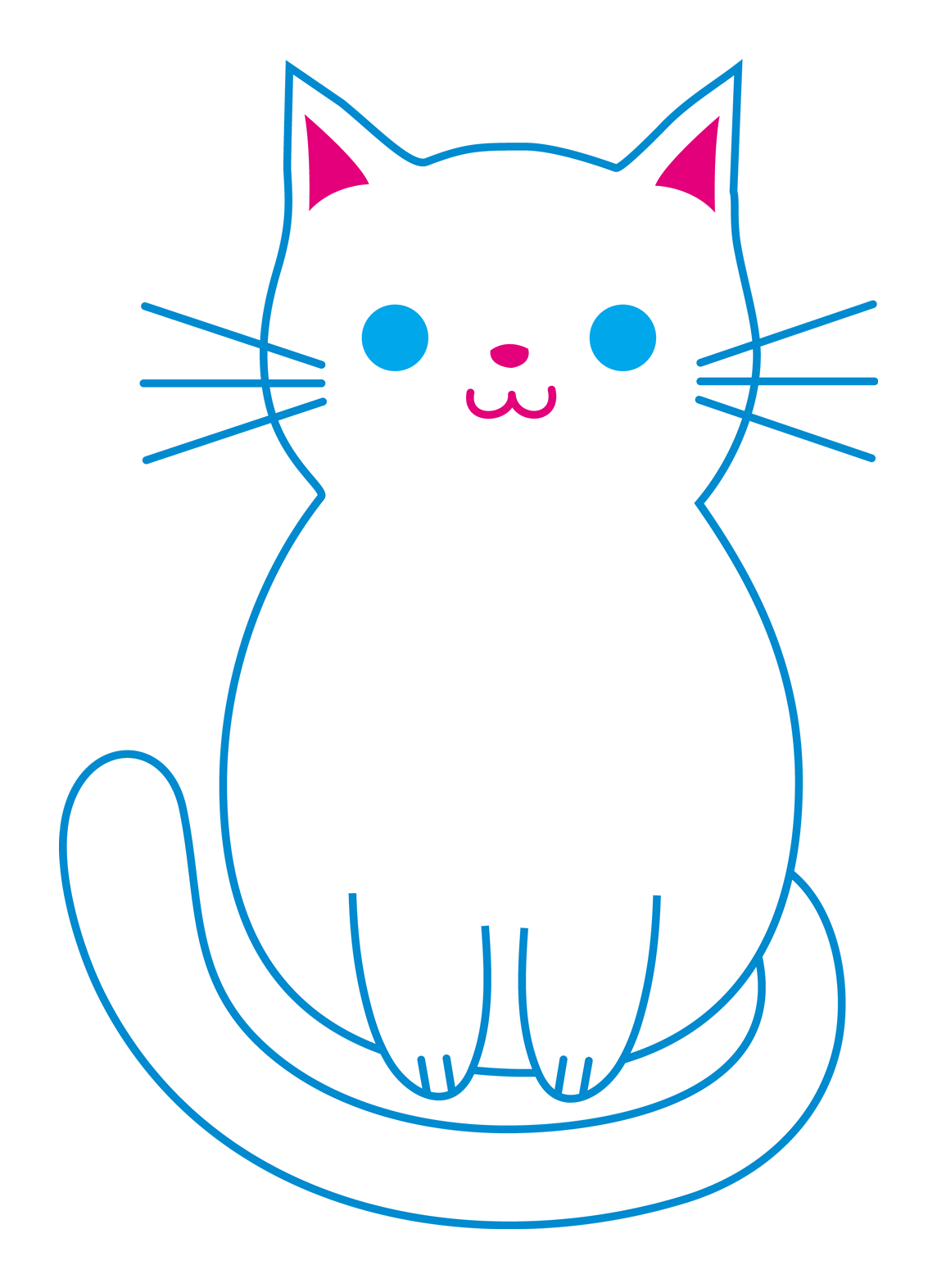 Kitty transparent small. Free cat cliparts download