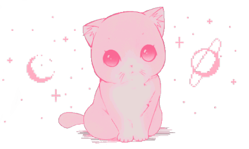 Kittens transparent kawaii. Cat tumblr