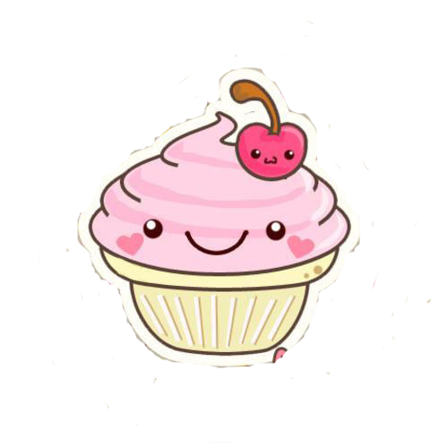 Drawing details cupcake. Png t do sketch