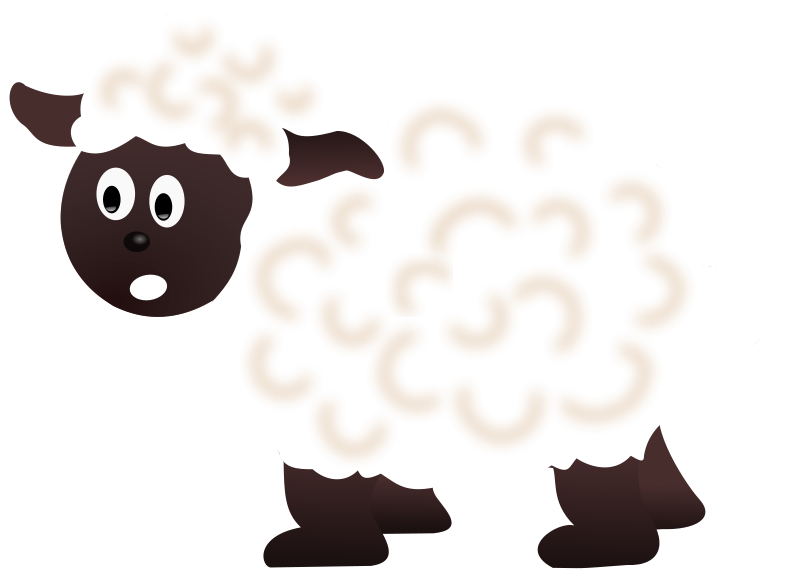Sheep clipart three. Free market lamb cliparts