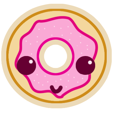 Kawaii donut png. Doughnut by theangeltears on