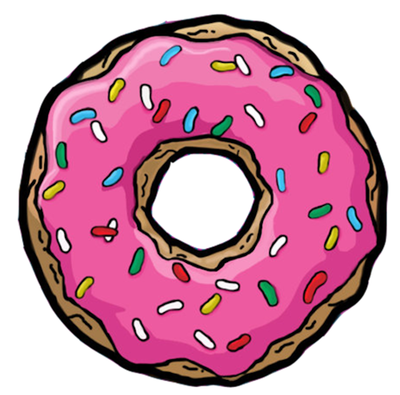 donuts vector hipster