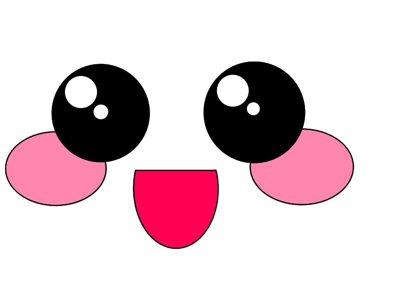 Kawaii eyes png. Cute happy kawaiifood freetoedit