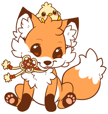 kawaii fox png