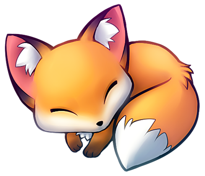 Renard illustration pinterest and. Kawaii fox png graphic black and white library