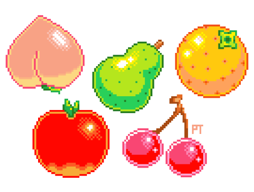 Pixels Drawing Fruit Picture 2360301 Pixels Drawing Fruit