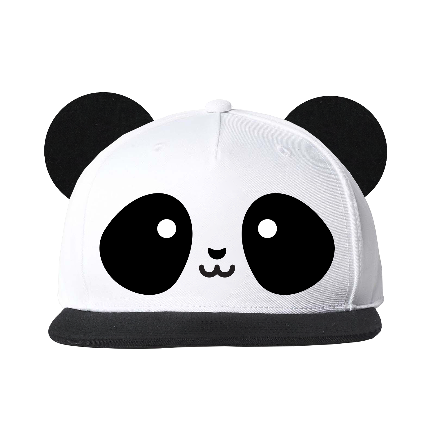 Whistle flute kawaii cap. Panda ears png clip transparent stock