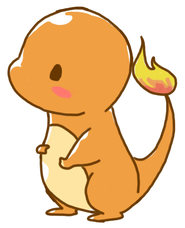 Kawaii pokemon png. Charmander by inversidom riot