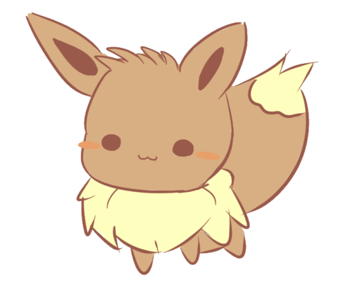 Kawaii pokemon png. Eevee uploaded by sebastiancarter