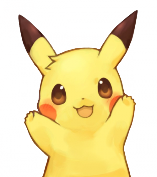 Kawaii pokemon png. Pikachu via tumblr shared