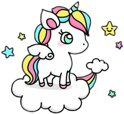 Image result for cute. Kawaii unicorn png clipart library