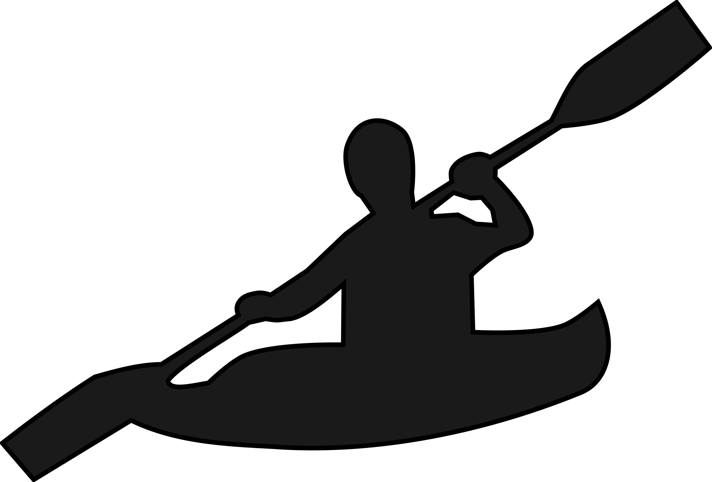 Free canoeing cliparts download. Kayaking clipart line kayak picture library stock
