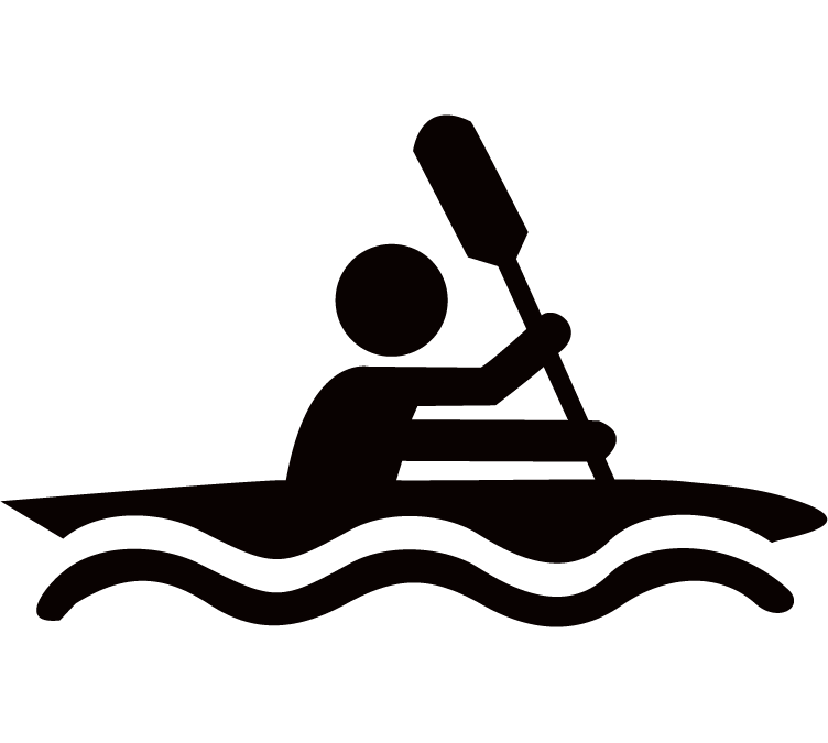 Kayaking clipart. Cliparts for free