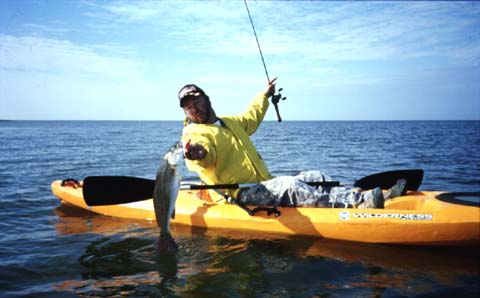 Kayaking clipart kayak fishing. For reds and trout