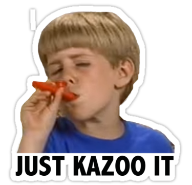 Kazoo kid png. Also buy this artwork