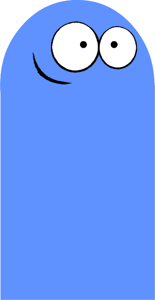 kazoo transparent bloo