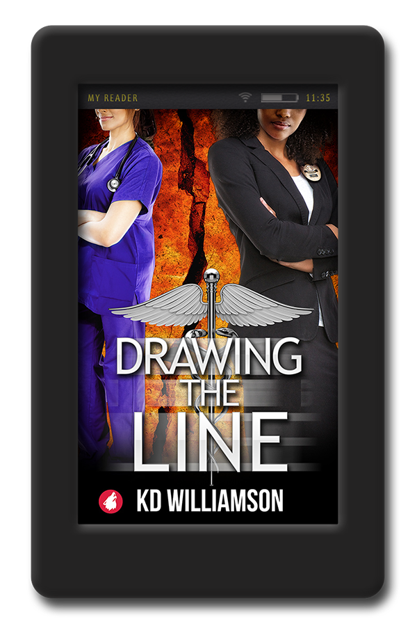 Kd drawing. The line by williamson