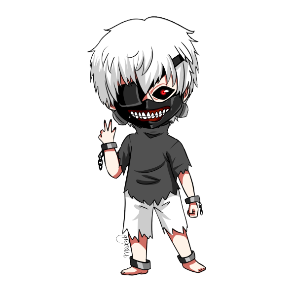 transparent kaneki sad