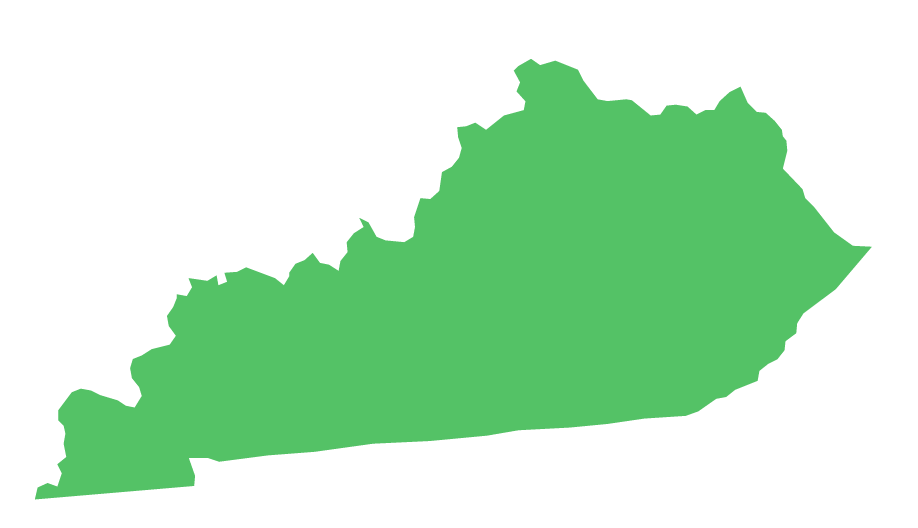 Kentucky outline png. State ce requirements for