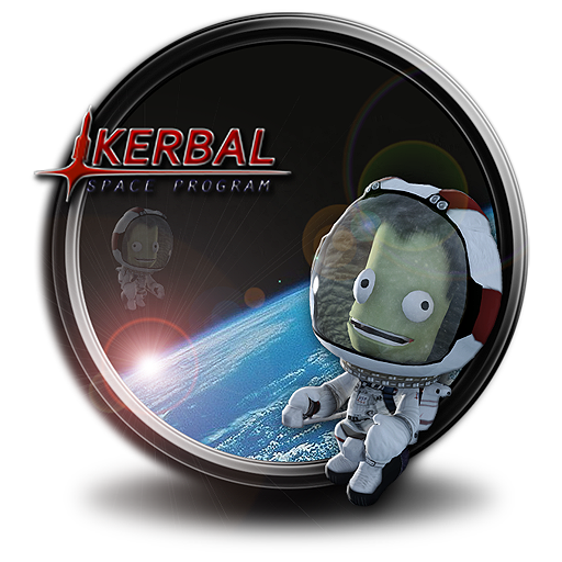 Kerbal space program png. Icon by sidyseven on