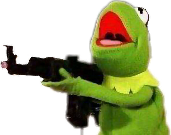 Kermit meme png. Frog crazy sticker by
