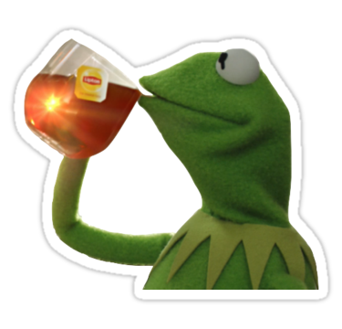 Also buy this artwork. Kermit memes png image transparent stock