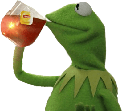Largest collection of free. Kermit tea png clip download