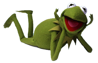 Image the frog fiction. Kermit tea png banner royalty free stock