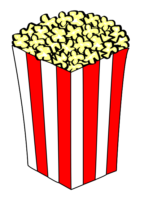 Cycle clipart pop. Free popcorn cliparts download