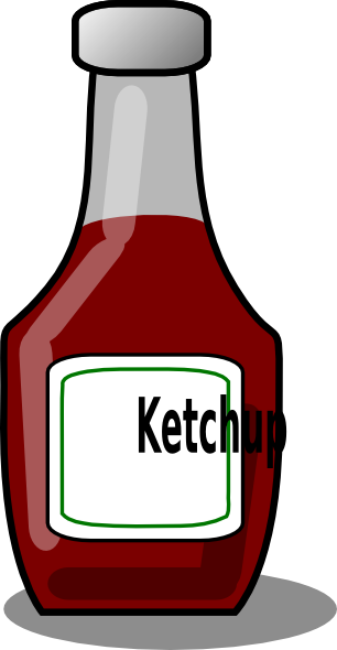Ketchup clipart kind. Clip art at clker