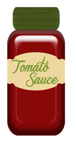 Ketchup clipart red sauce. Tomato clip art food