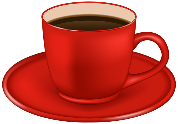 Ketchup cup png. Red coffee clipart image