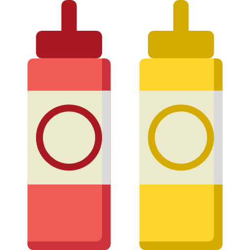 Ketchup and mustard png. Food spicy condiment sauces