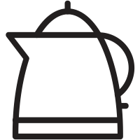 Kettle drawing kattle. Electric icons noun project