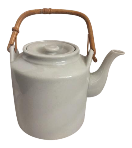 Kettle drawing industrial design. Taylor ng white ceramic