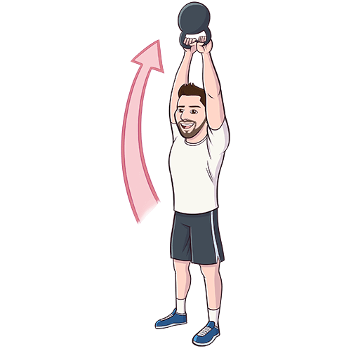 Kettlebell clipart kettlebell swing. American central the is