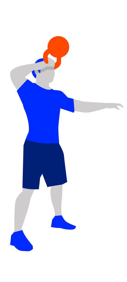 Kettlebell clipart kettlebell swing. Snatch guide to perfecting