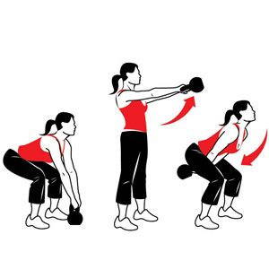 Kettlebell clipart kettlebell swing. Swings and glutes works